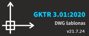 GKTR 3.01:2020 šablonas